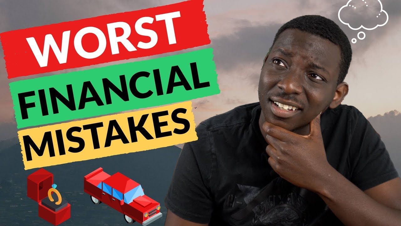 The worst financial mistakes (Facebook edition part 1!)