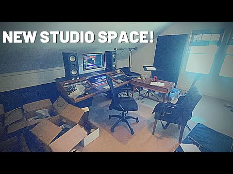 My New Studio Space! (it's a mess)