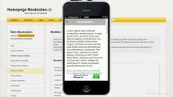 Homepage-Baukasten.de im Test - Wie gut ist der kostenlose Website-Editor?