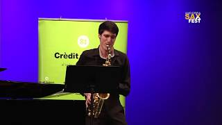 MAXIME BAZERQUE – 1st ROUND – III ANDORRA INTERNATIONAL SAXOPHONE COMPETITION 2016