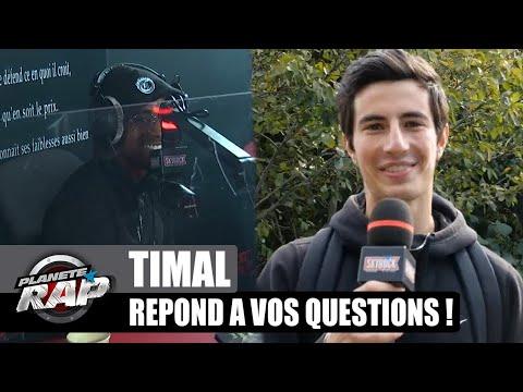 Youtube: TIMAL est un GROS CHARO? Il répond à VOS questions! #PlanèteRap