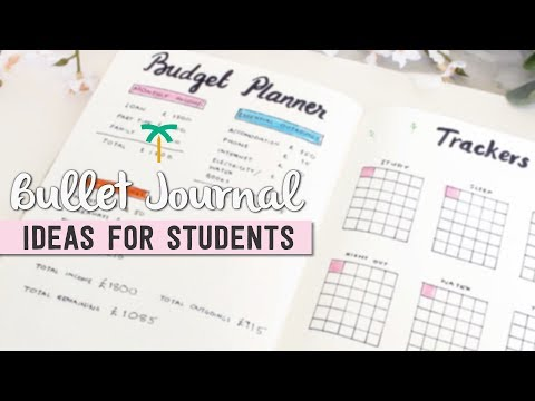Bullet Journal Ideas for Students | Stationery Island
