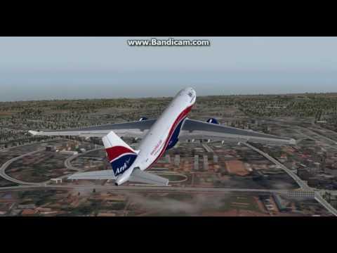 Flying on the VATSIM network: Departure from Kotoka International Airport (ACC/DGAA) via RWY21