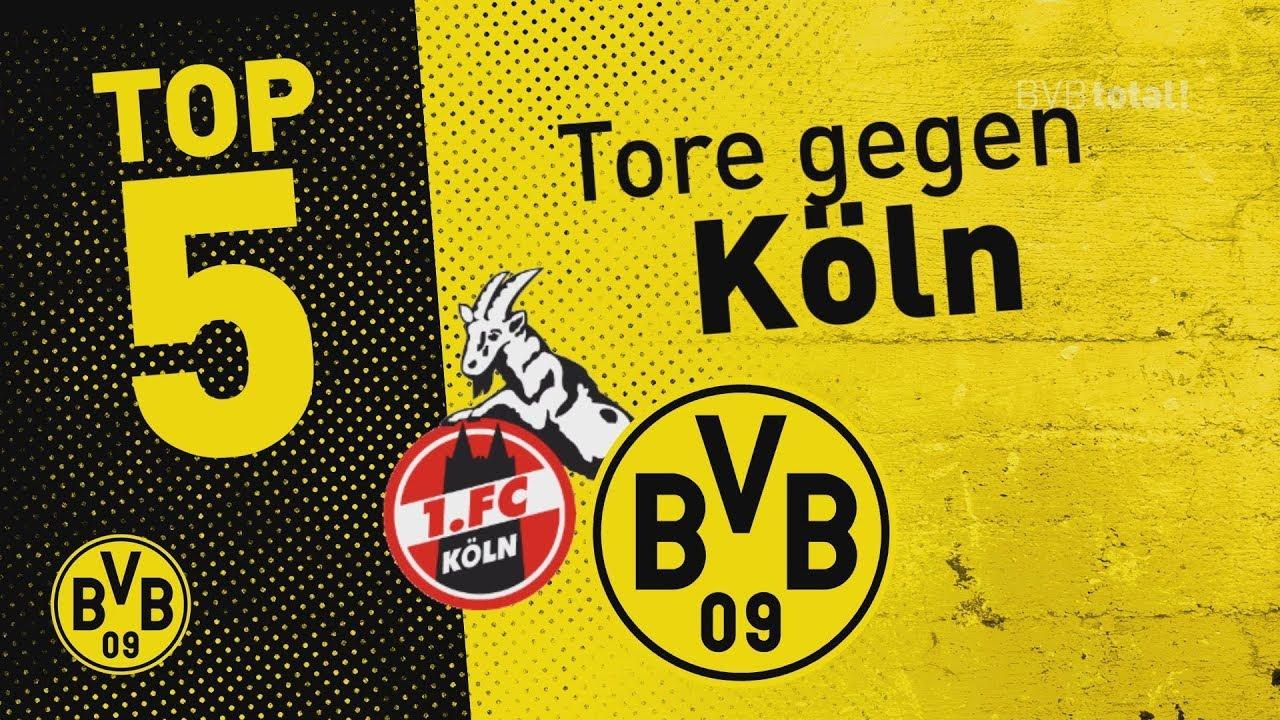 Top 5 Tore mit Reus, Kagawa & mehr | 1. FC Köln - BVB
