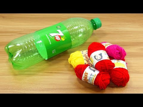 Home decorating idea with waste plastic bottle | best out of waste | diy room decor