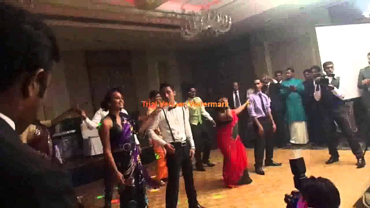 surprise wedding dance at menu amp sams youtube