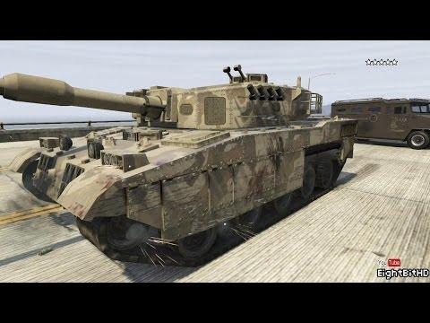 GTA 5 100 TonsTank Rampage #3 HD Grand Theft Auto 5