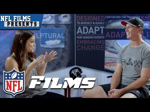 Katie Nolan & Matt Ryan Talk Football, Family & Tom Brady's Post SB 51 Text | NFL Films Presents