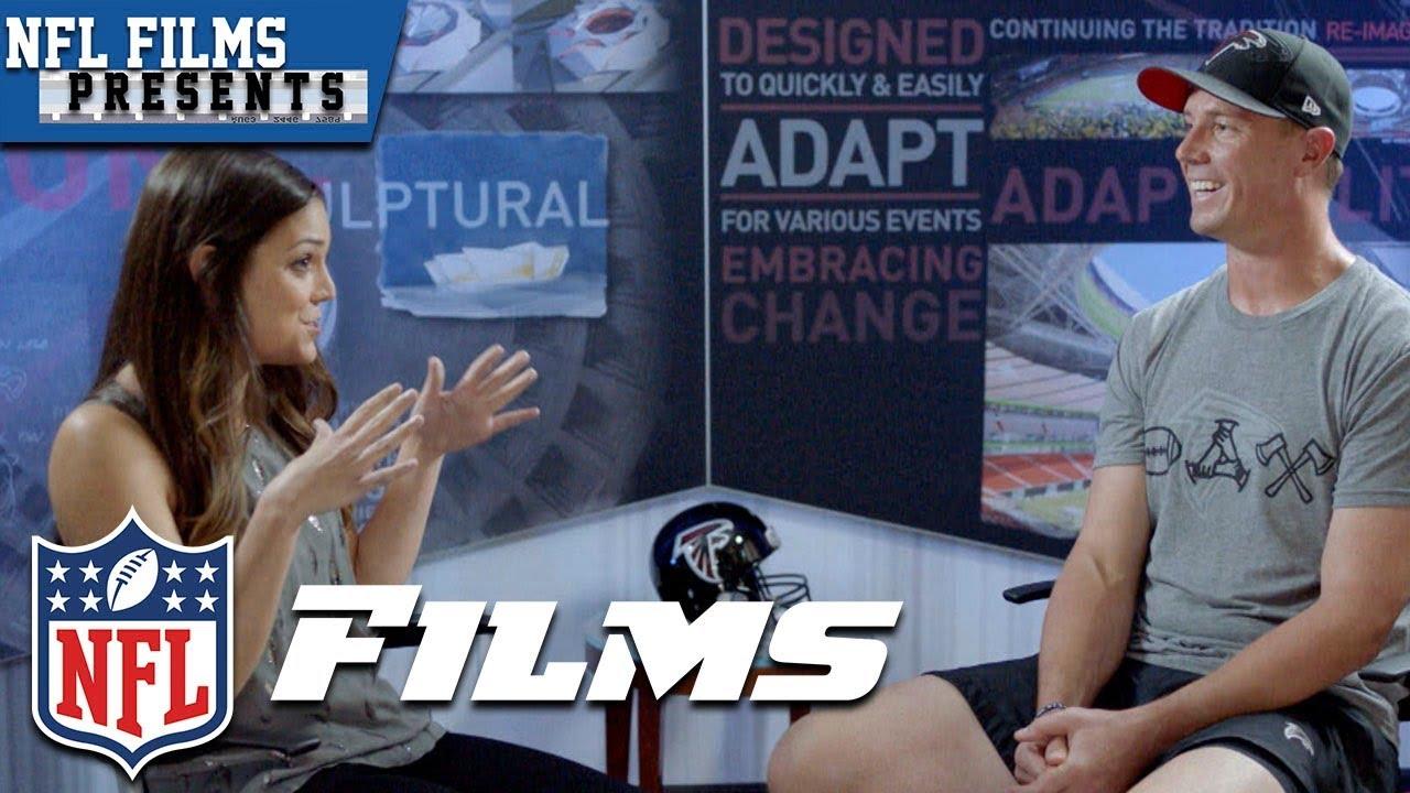 Katie Nolan & Matt Ryan Talk Football, Family & Tom Brady's Post SB 51 Text | NFL Films