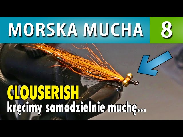 MORSKA MUCHA ➤ kręcimy muchę Clouserish (zrób to sam #1)