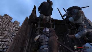 Mount and Blade siege gameplay - PC Gaming Show 2016