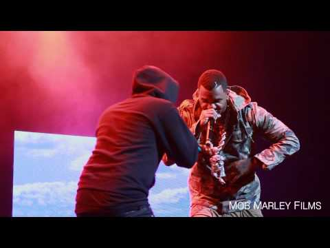Kendrick Lamar brings out The Game - The City (LIVE) HD at BET Music Matters Tour 2012 LA