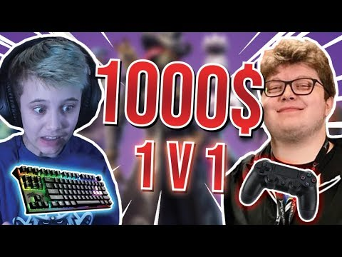 I bet $1000 on a 1v1 against Aydan   Best fortnite console player ...