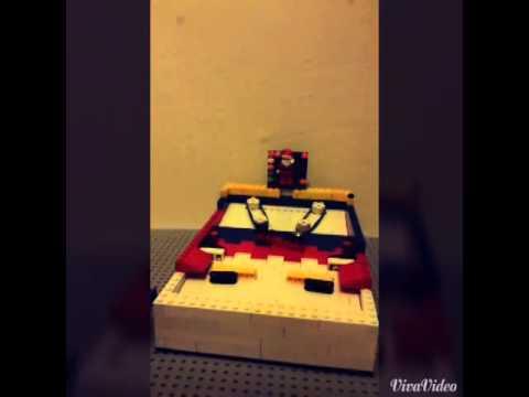 Lego pinball machine *small*