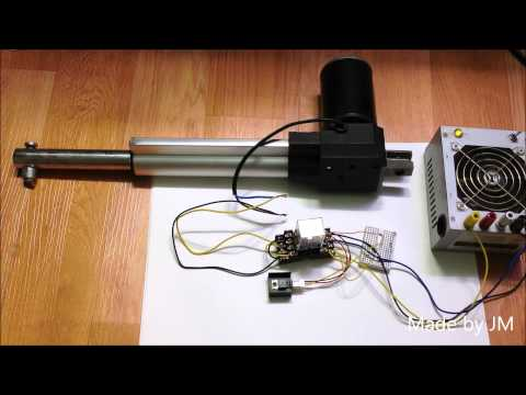 Light sense electric cylinder