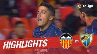 Resumen de Valencia CF vs Málaga CF (2-2)