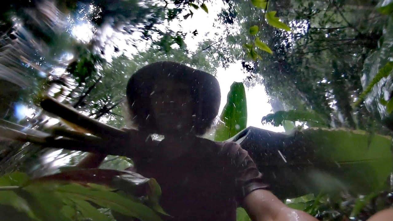 ใช้ชีวิตในป่า...!! ถูกพายุฝนเล่นงาน...!!  [โจโฉ]