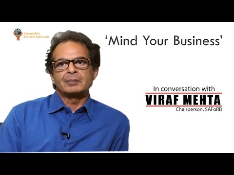 'Mind Your Business' with Viraf Mehta