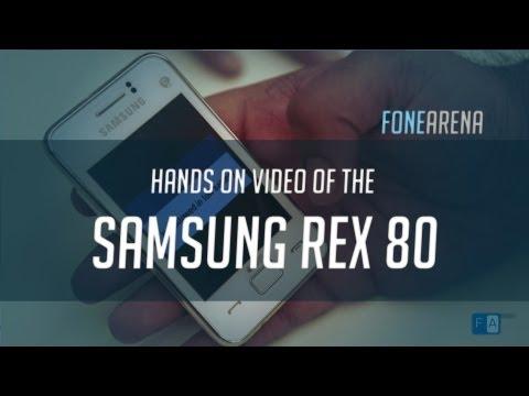 Samsung REX 80 hands on