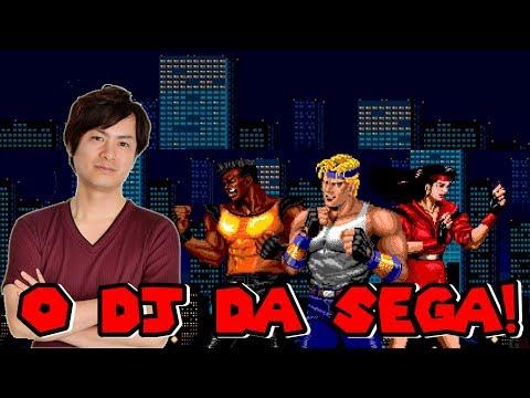 YUZO KOSHIRO - O DJ do Mega Drive!