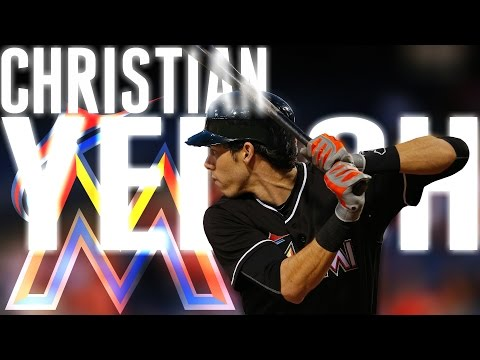 Christian Yelich | 2016 Marlins Highlights ᴴᴰ