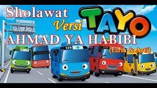 Gambar cover AHMAD YA HABIBI Versi TAYO Bus Kecil | AHMAD YA HABIBI NISSA SABYAN cover Tayo Lirik dan Arti
