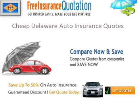 Delaware Auto Insurance Company - Delaware Car Insurance Rates