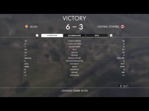 BATTLEFIELD 1: Incursions on console. Climbing the Ranks. Platinum *Euro Servers*