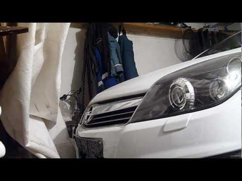 Opel astra h установка бочка с омывателем