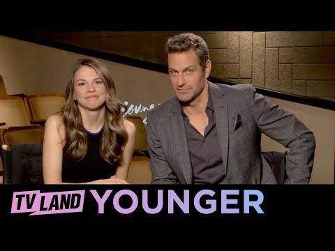 Q&A w Sutton Foster & Peter Hermann  Younger  Season 5