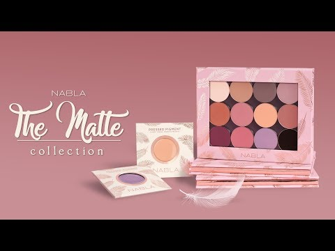 NABLA THE MATTE COLLECTION + SWATCHES (ENG SUB) thumbnail