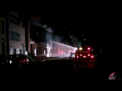 Warehouse fire, Watervliet NY
