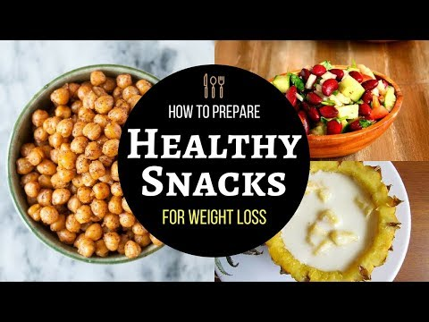 Healthy Snacks Recipe For Weight Loss | Quick And Low Calories Easy Healthy Snacks For Weight Loss