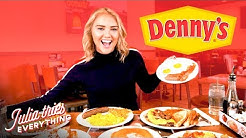 Trying ALL Of The Most Popular Menu Items At Denny's