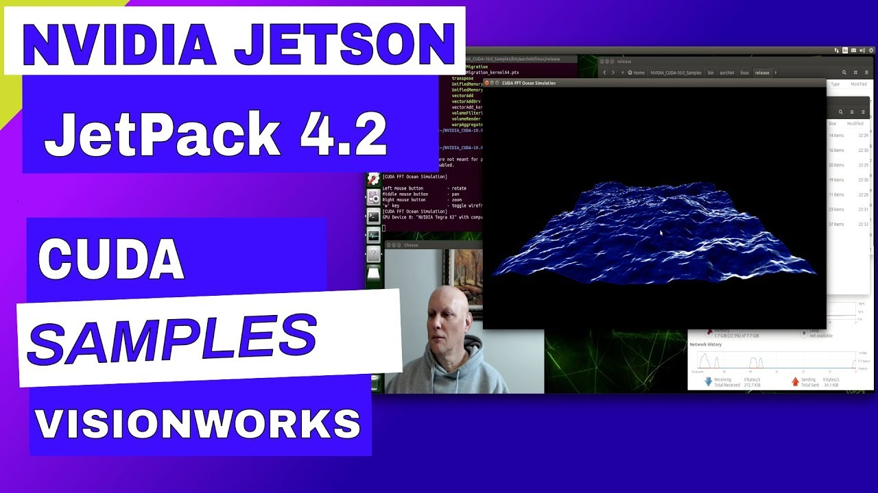 Explore the JetPack 4 2 Samples on the NVIDIA Jetsons