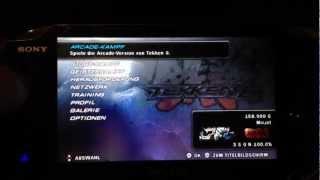 PS Vita: Playing Tekken 6 at Gravity Crash Exploit