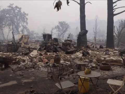 The Great Valley Fire : Ital IMan I Reports the devastation