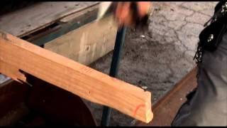 Cutting lumber with Fitzen