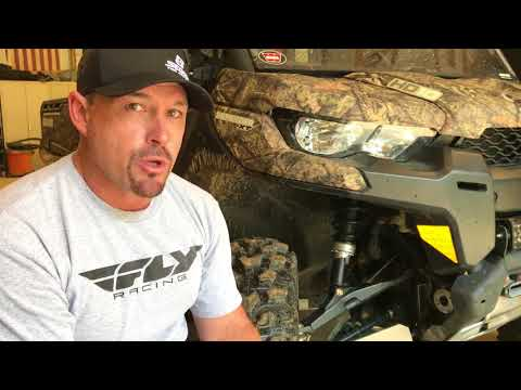 Squeaky ATV/UTV suspension? Check this out...