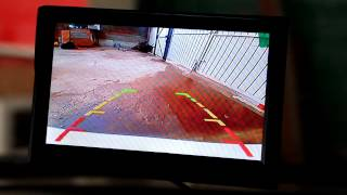 Обзор камеры заднего вида и монитора из Китая