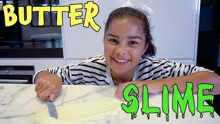 Making Butter Slime | Grace's Room