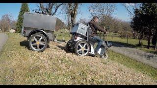 Schnellster Rollstuhl Scooter Elektrofahrzeug mit Zulassung