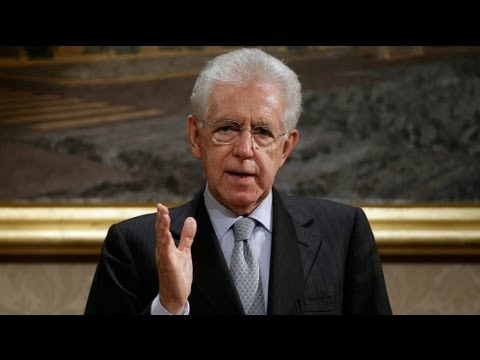 Monti says he will lead centrists in Italian vote