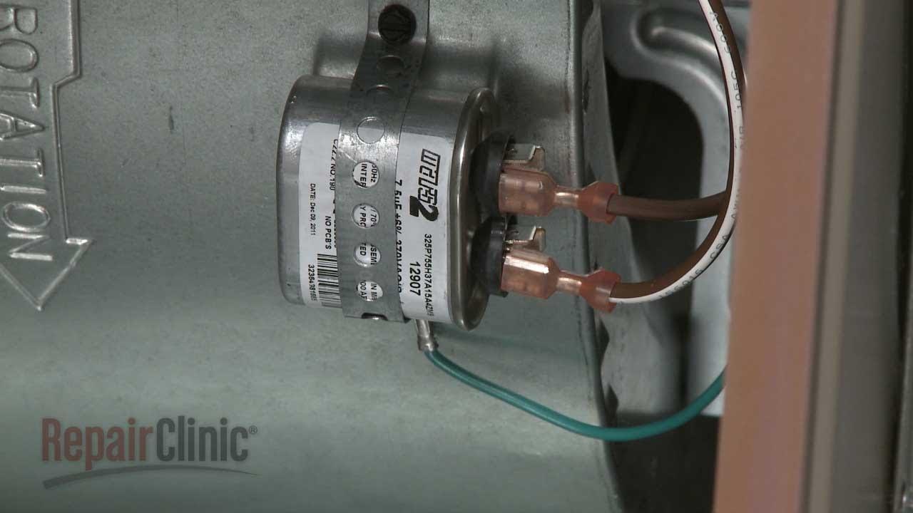 fan motor capacitor wiring diagram 6 pin cdi york furnace run replacement #s1-02435762000 - youtube