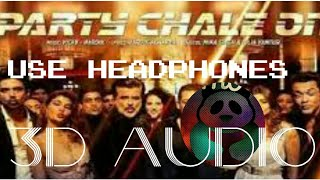 3D Audio|Party Chale On|Race 3|Salman Khan|Anil Kapoor|Mika Singh|Daisy Shah|Jacqueline Fernandez|