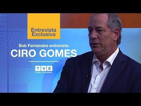 #CiroNaTVE | TVE Entrevista Especial com Ciro Gomes e Bob Fernandes