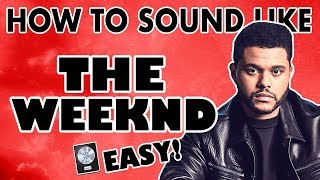 The Weeknd Vocal Effect (Easy) - Logic Pro X Vocal Tutorial