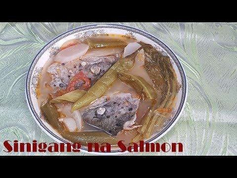 Easy Salmon Head Sinigang In White Miso Recipe | Sinigang Na Salmon Sa Miso Recipe