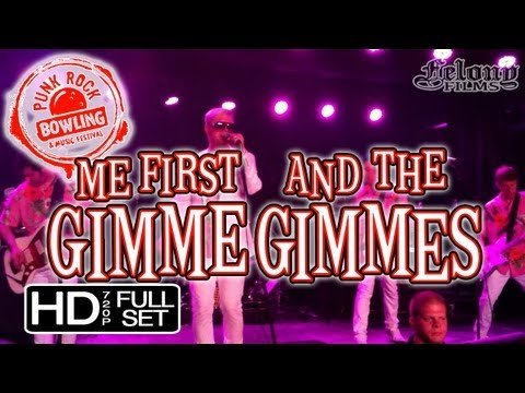 ME FIRST AND THE GIMME GIMMES - PRB'13 (full set)