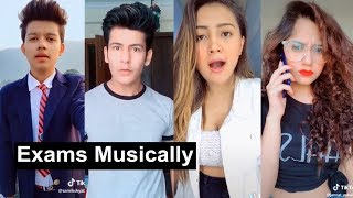Exams Tension Musically | Teacher Student Jokes | Manjul, Aashika, Jannat, Riyaz, Heer thumbnail